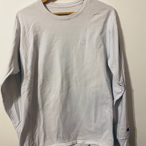 Other - Champion White Long Sleeve
